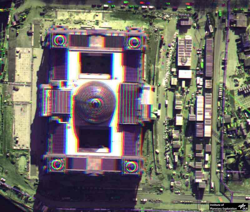 Sample Anaglyph Image, Reichstag Berlin